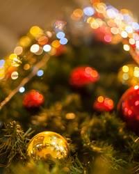 funkelnder Weihnachtsbaum