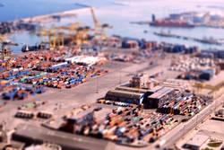 Containerhafen in Barcelona
