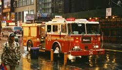 Feuerwehrauto New York
