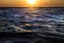 Mediterranean sunset Corsica Sardinia travel sailboat