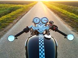 Motorcyle horizon