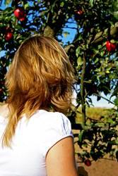 Eva und der Apfelbaum
