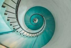 Schnecke oder Treppe