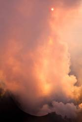 Vulcano Sunset .