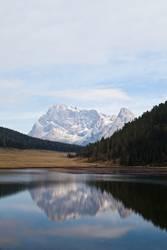 Lago di Calaita, Trentino, Dolomiten
