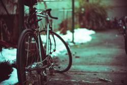 Fahrrad parken