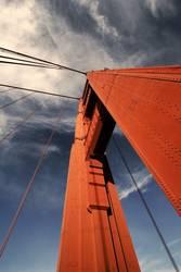 pylône rouge