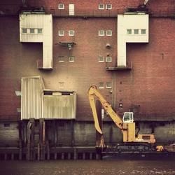 WILHELMSBURG/ Industriegewässer
