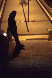 Lichtstimmung am Bahnhof