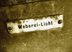 Altes Webereischild