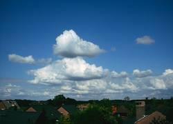 Auftürmende Wolken