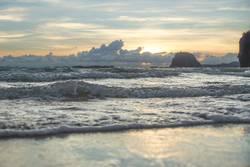 Sunset at Charlies beach, Koh Mook, Thailand
