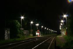 bahnhofsbeleuchtung