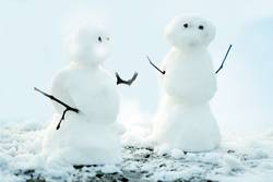 Schneepärchen
