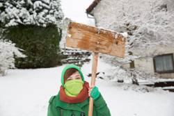 Schneegida - Protest im Schnee