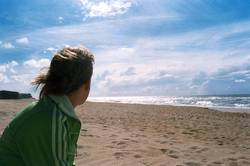 Sun on the beach