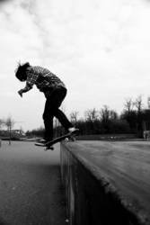 real skateboarder