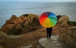 Rogen(Bogen)Schirm