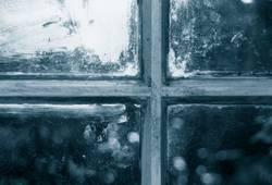 Altes Werkstattfenster