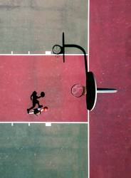 Basketball Player from Above