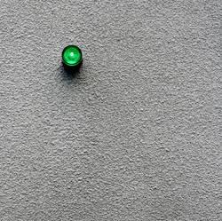 Kleine grüne Alarmleuchte...