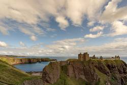 Dunnottar Castle and Bay