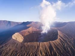 Vulkan Mount Bromo auf Java in Indonesien