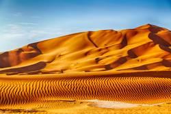 in oman old desert rub al khali the empty quarter