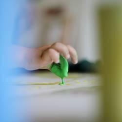 kleckserei - zwei grüne finger