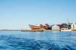 Schiffswerft in Norwegen