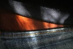 öööhm.. ? eine jeans ein gürtel und ein pullover