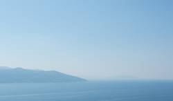 Morgens am Mittelmeer