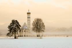 Kirche Sankt Coloman in Bayern bei Schwangau