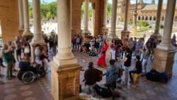 Flamenco - Plaza de España (Sevilla)