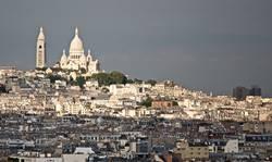Montmartre kontrastiert