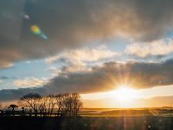 Irland - Sonnenuntergang