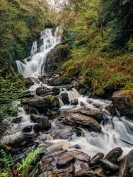 Irland - Torc Wasserfall
