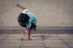 backyard breakdancer