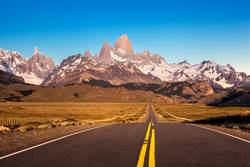 Road to Fitz Roy and Torre Mountains