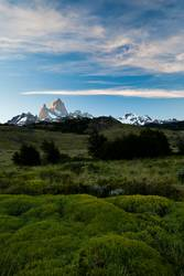 Fitz Roy Mountain Landscape