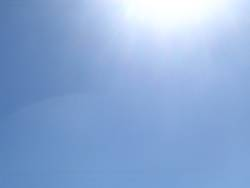 it`s only the sun...