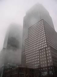 Fog over Manhattan
