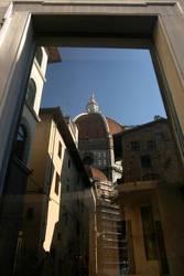 Apsiden und Duomo Florenz