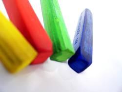 vier Farben zum Zweiten