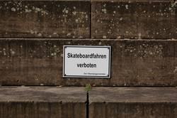 auch mit ohne skateboard auf die Fresse fliegen