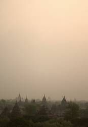 Dawn in Bagan