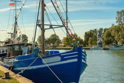 Ostseekutter im Yachthafen, Bootshafen Karlshagen Usedom_001