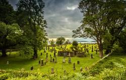 Alter schottischer Friedhof