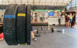 Equipment in the gym for getting healthy