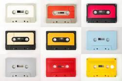 Musikkassetten Sammlung